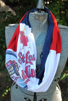 St. Louis Cardinals Upcycled TShirt Infinity by SeasonedWithStyle, $14.00