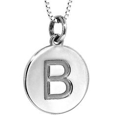 Initial Necklaces are the hottest items of the season! The disc is solid and can be ordered with any initial. http://www.eddielanes.com/catalog/product/view/id/13203/s/14kt-white-gold-18-necklace-with-disc-charm-letter-b/ $657.00