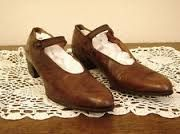 1930s shoe, dresssunday shoe