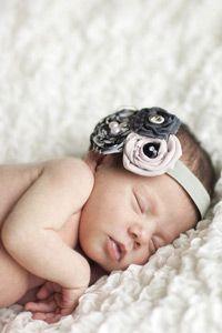 Baby Head Band @Alison Dreher I think ella needs this!