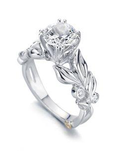 """Mark Schneider """"Flora"""" Diamond Engagement Ring"""