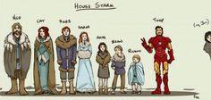 Game Of Thrones + Iron Man