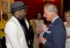 Will.i.am And Prince Charles | GRAMMY.com