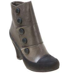 Grey  Miz Mooz Women's Adrien Ankle Boot shoes