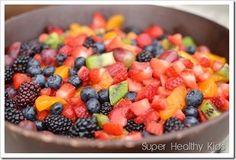 Acid Reflux Diet ideea - Fruit salad - http://bestrecipesmagazine.com/acid-reflux-diet-cookbook-fruit-salad/