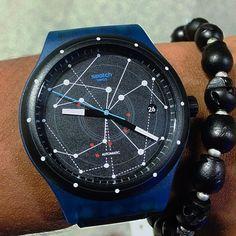 #Swatch SISTEM BLUE