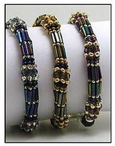 Tubular Herringbone Stitch Bracelet