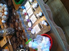 Mini Mason Jar Manicure Sets.