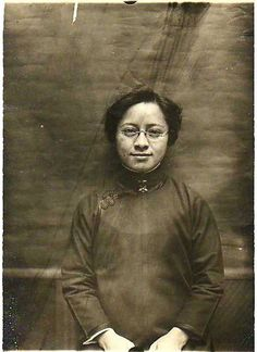 """1910, Tye Leung Schulze was hired as the first Chinese federal civil servant at the Angel Island Immigration Station, where she met her future husband, Charles Schulze. At the time they had to travel to Washington State to marry because California did not allow marriages between Chinese and white Americans.  In 1912, Tye voted in the presidential primaries and became """"the first Chinese woman in the history of the world to exercise the electoral franchise."""" (SF Examiner May 12, 1912)"""