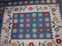 hand quilting grandmother's flower garden - Google Search