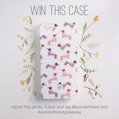 Newest Design Work + iPhone Case Giveaway