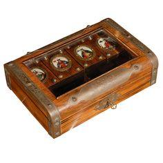1920's Card Game Box.