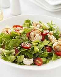 lemony shrimp & avacado salad -   from food & wine magazine