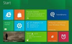 The new Metro UI for Windows 8
