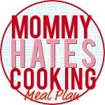 Meal Plans with 120 Recipes for 4 weeks including ingredient list, planner and more!  Great way to get organized and get out of the cooking rut!  Even has an Allergy Free Plan.