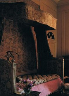 Antique French bed…