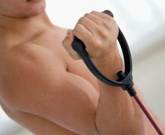 Hammer every last muscle fiber with this resistance band workout