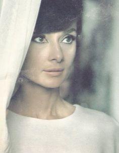 Audrey Hepburn, c. 1965.