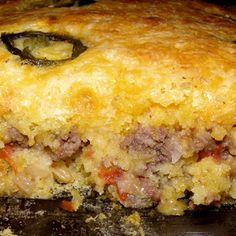 Mexican Cornbread Casserole {Very simple recipe that you can throw ...