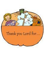Thanksgiving Bible Crafts