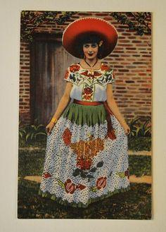 Mexican Folk dancing costume