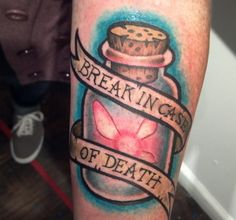 Zelda fairy in a bottle tattoo