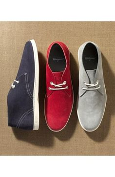Chuk it: Salvatore Ferragamo 'Rico' chukka sneakers