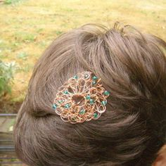 Even your hair needs to be bedazzled sometimes, and in order to do so, try crafting Delicately Crocheted DIY Hair Accessories. Made with wire, the result of this fabulous hair clip is a flower-shaped accessory that you will never want to take out of your hair.