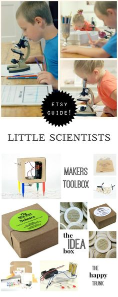 An inspiring list of gift recommendations for the budding young scientists in our lives.