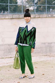 (via Vanessa Jackman: Paris Fashion Week SS 2013….Susie)