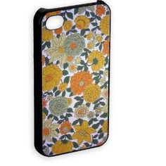 vintage floral 4 Iphone 4 & 4gs Novelty phone Cover