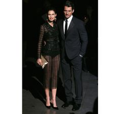 Bianca Balti and David Gandy, Milan Fashion Week AW13, Dolce & Gabbana Front Row