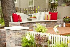 One-of-a-Kind Seating - More Stunning Yard Makeovers From HGTV's Curb Appeal on HGTV