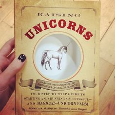 book, unicorn