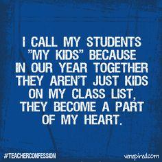 Why we love teachers. :)