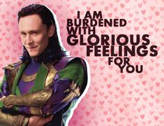 Loki's Valentine's Day Card