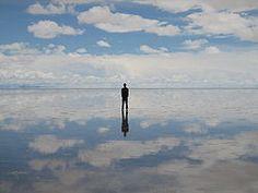 Salar de Uyuni mirror, salar de, heaven, flat, the happiness project, cloud, de uyuni, place, salt