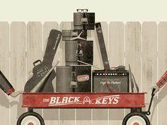 Recopilación: Los mejores carteles de The Black Keys