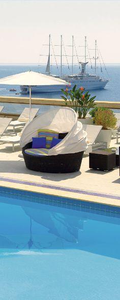 #Jetsetter Daily Moment of Zen: Fairmont Monte Carlo in Monte-Carlo, #Monaco | jetsetter.com