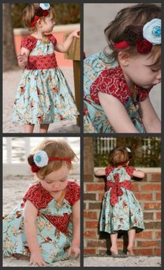Handmade JOSIE dress-
