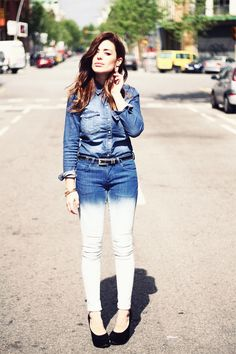Ombre denim - WE SHOULD MAKE THIS!