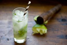 ginger mint limeade with gin
