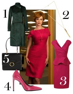 Get Joan's office look, plus four more outfits inspired by our favorite TV heroines