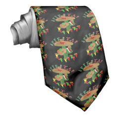 Fiesta Cactus w/Sombrero & Guitar Neck Tie SHIPPING TO Longmont, CO  #cincodemayo #fiesta #gravityx9 #necktie