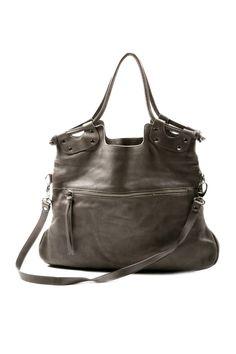 Shoptiques — Large Leather Bag