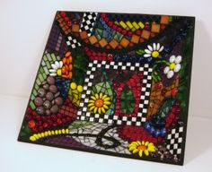 Gorgeous Mosaic Bowl Has Art Deco Flavor