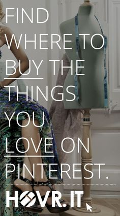 HOVR.IT is the leading Pinterest shopping app for online fashion comparison, connecting your favourite styles with the retailers that sell them. #ad