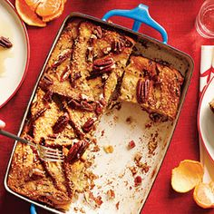 Apple-Stuffed Strata | CookingLight.com #myplate #fruit #protein
