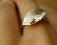 love it!! Lady bug ring