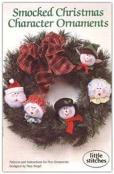 Christmas Ornaments Smocking Patterns